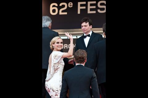 """Actress Diane Kruger arrives at the premiere of """"Inglorious Basterds"""" at the 62nd Cannes Film Festival in Cannes."""